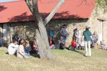 The Group listening to Nicki relating the events at Rorkes Drift..jpg